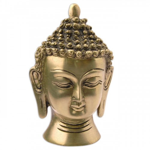 buddha head statue meaning lord buddha statue brass sculpture religious figurines 10501